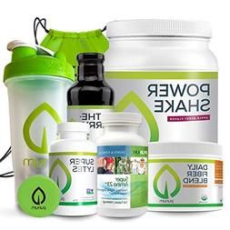 Purium 10 Day Transformation, Premium Cleansing & Detox Kit