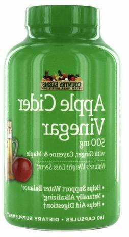 180 apple cider vinegar capsules w mother Weight Loss with G