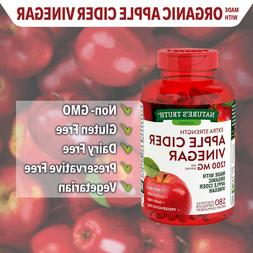 180 Capsules NATURE'S TRUTH Vitamins 1200 mg Extra Strength