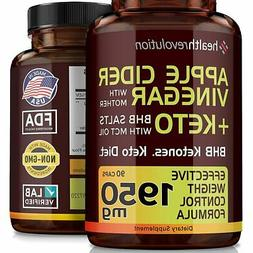 8X More Potency Formula Apple Cider Vinegar Capsules with Mo