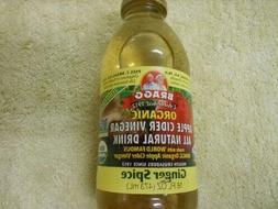 Bragg - Organic Apple Cider Vinegar All Natural Drink Ginger