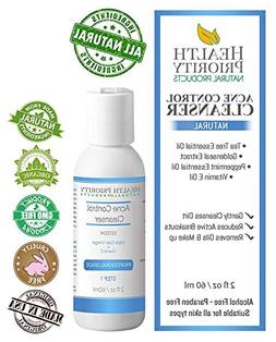 Natural & Organic Proactive Acne Control Cleanser & Face Was