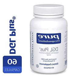 Pure Encapsulations - DGL Plus - Herbal Support for the Gast