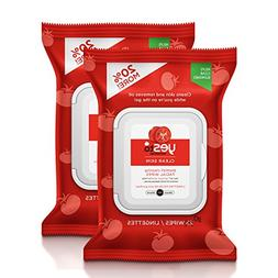 Yes To Tomatoes Clear Skin Blemish Clearing Facial Wipes, 30