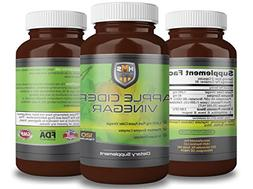 High Absorption Apple Cider Vinegar Pills with Enzymes and P