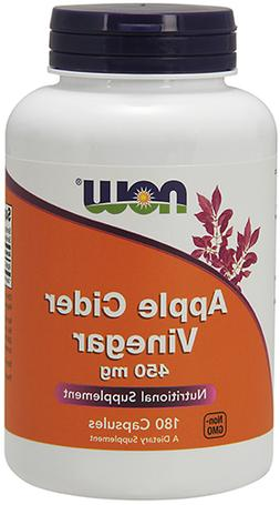 NOW Foods Apple Cider Vinegar 450 mg, 180 Capsule