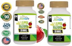 Apple Cider Vinegar Capsules 180 Capsules Extra Strength Wei