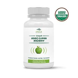Organic Apple Cider Vinegar Capsules - Pure and Raw ACV Pill
