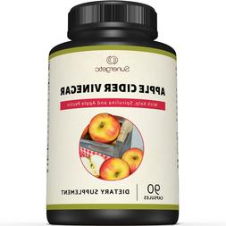 Premium Apple Cider Vinegar Capsules – Includes Apple Pect