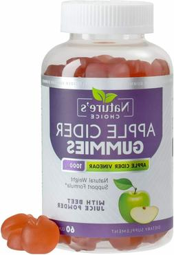 Apple Cider Vinegar Gummies with Mother 1000mg for Weight Lo