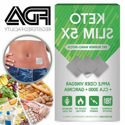 Apple Cider Vinegar Patches with Garcinia Cambogia Weight Lo