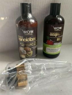 WOW SKIN SCIENCE APPLE CIDER VINEGAR SHAMPOO, COCONUT OIL CO