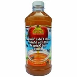 Apple Cider Vinegar w Mother & Honey Natural Plastic Dynamic