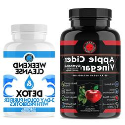 Apple Cider Vinegar Weight Loss with Bonus Weekend Cleanse a