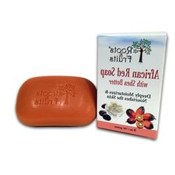 Roots & Fruits Bar Soap - African Red Soap - Shea Butter - 5