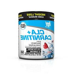 BPI Sports CLA + CARNITINE - Rainbow Ice - Weight Loss - Lea