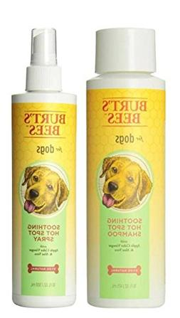 Burts Bees For Dogs Soothing Hot Spot Shampoo & Spray Bundle