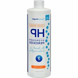 Essential Oxygen Plus 3 Percent Food Grade Hydrogen Peroxide