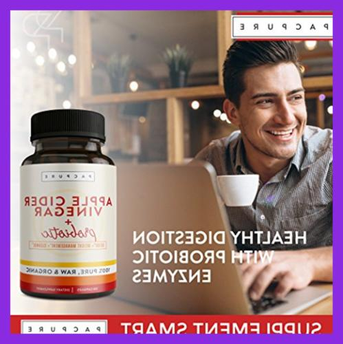 1500Mg Organic Vinegar Capsules W Raw For