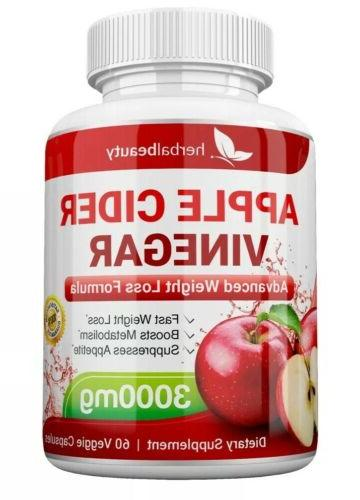 APPLE CIDER 3000mg LOSS CAPSULES USA