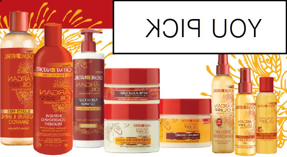 3 pack argan oil hair care products
