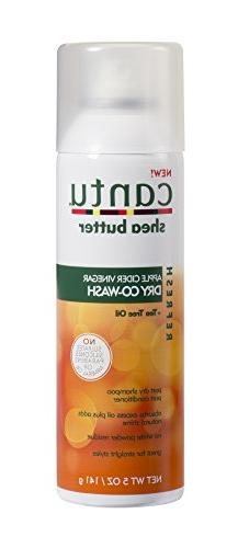 Cantu Refresh Dry Co-wash with Apple Cider Vinegar and Tea T