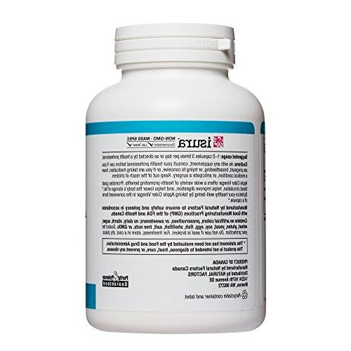Natural Factors Cider Supports Capsules
