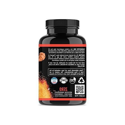 Angry Supplements Apple Cider Vinegar Turmeric & Ginger , All-Natural Detox Remedy, Booster, + Energy