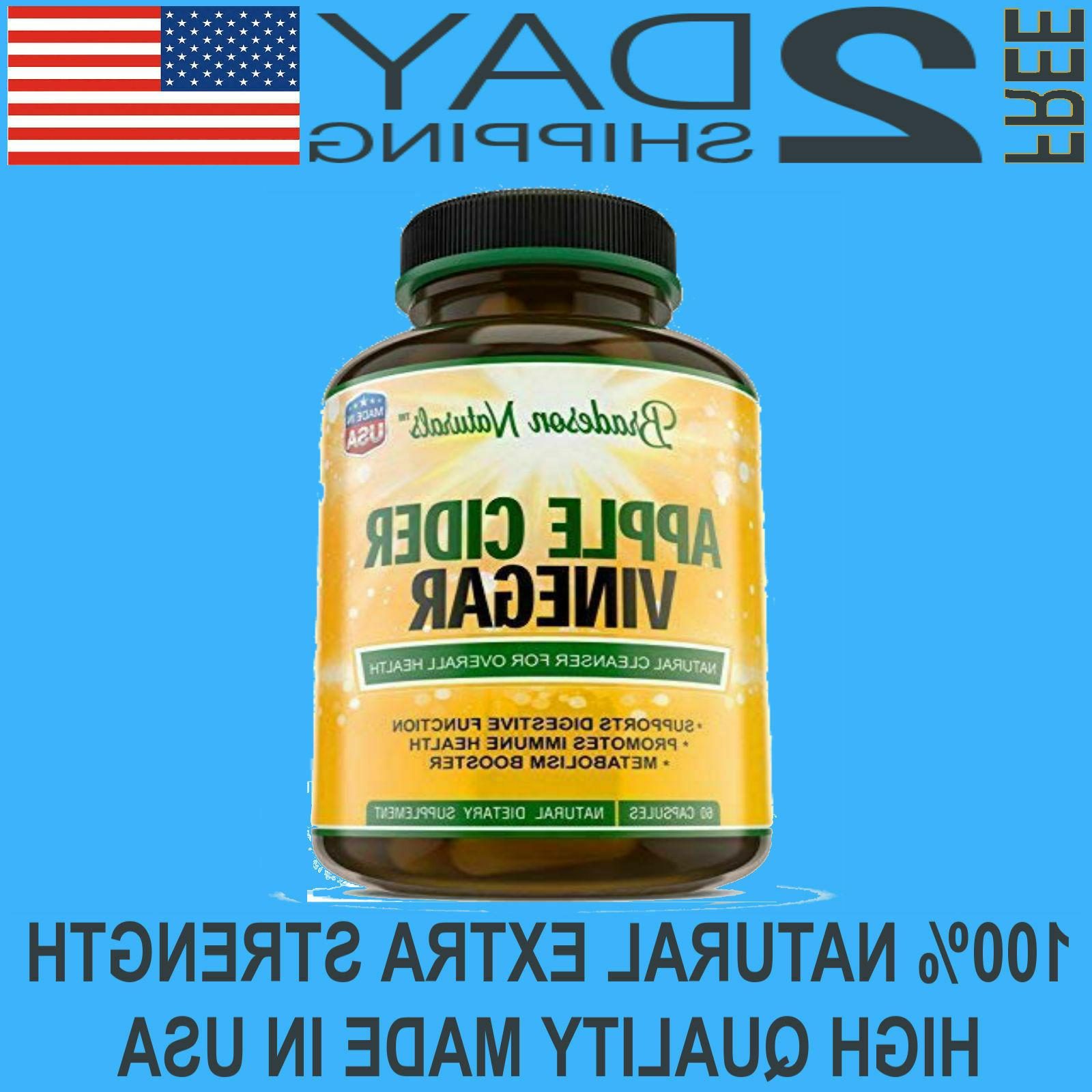 apple cider vinegar 1300mg capsules weight loss
