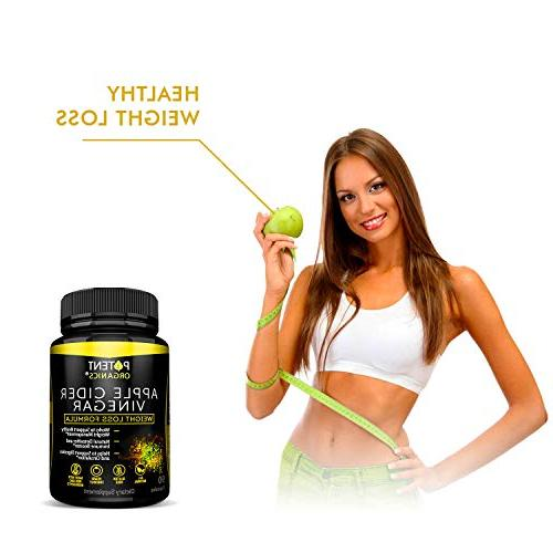 100% Organic Cider Vinegar 90 Capsules For Healthy Vegan and - Helps in - to Your Diet & Systems
