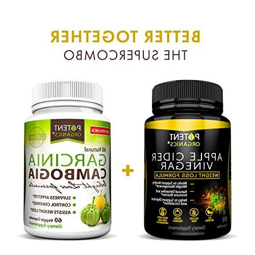 100% Vinegar Capsules Weight Loss- Raw, Vegan Helps Digestion in USA to Your Systems