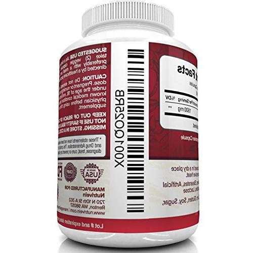 Nutrivein Capsules Soft Healthy Digestion, - Supports Blood Sugar & Immune System - ACV Appetite Suppressant