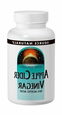Source Naturals Apple Cider Vinegar Concentrate 500mg, Cell