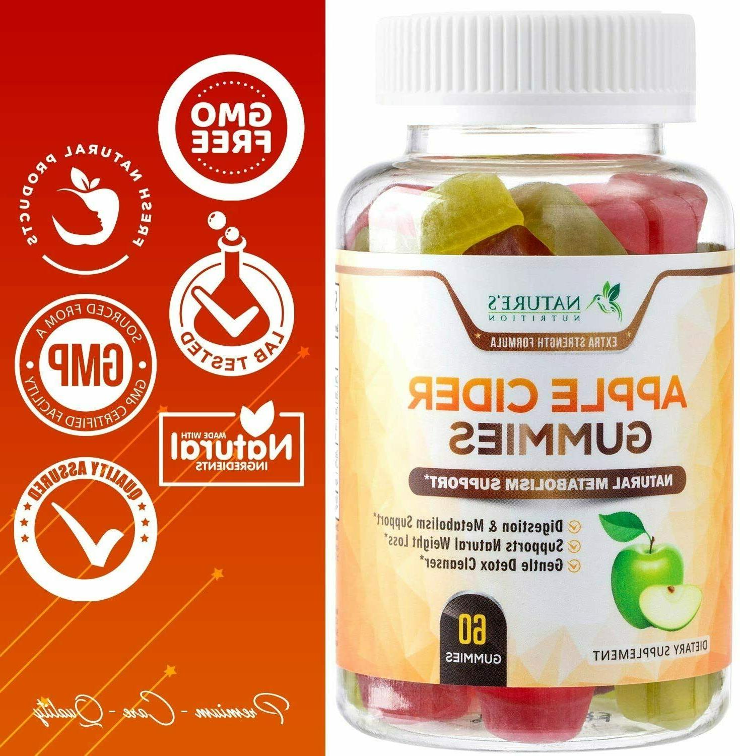 Apple with Mother 100% ACV Gummy - Nutrition
