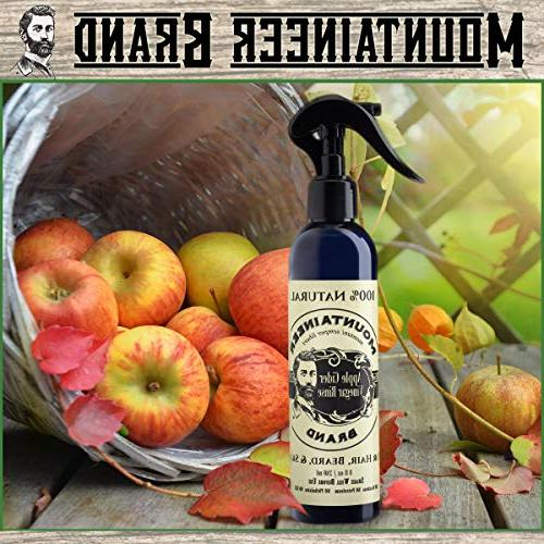 Apple Cider Rinse Brand Relief for Itching, Acne, Blemished Skin | Use Hair,