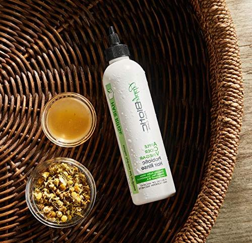 Apple Cider Hair and Buildup & Toxins to Shine, Luster, – Natural Scalp