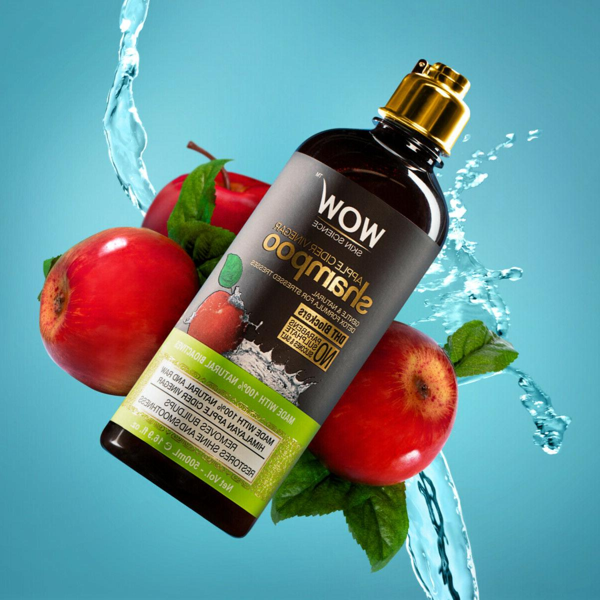 WOW Cider Shampoo For Hair - - 16.9
