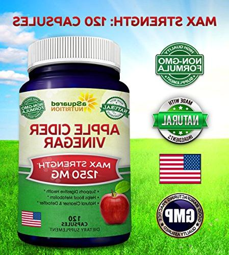 Pure Supplement 1250mg for Detox & - All Apple Cleanse Men Women