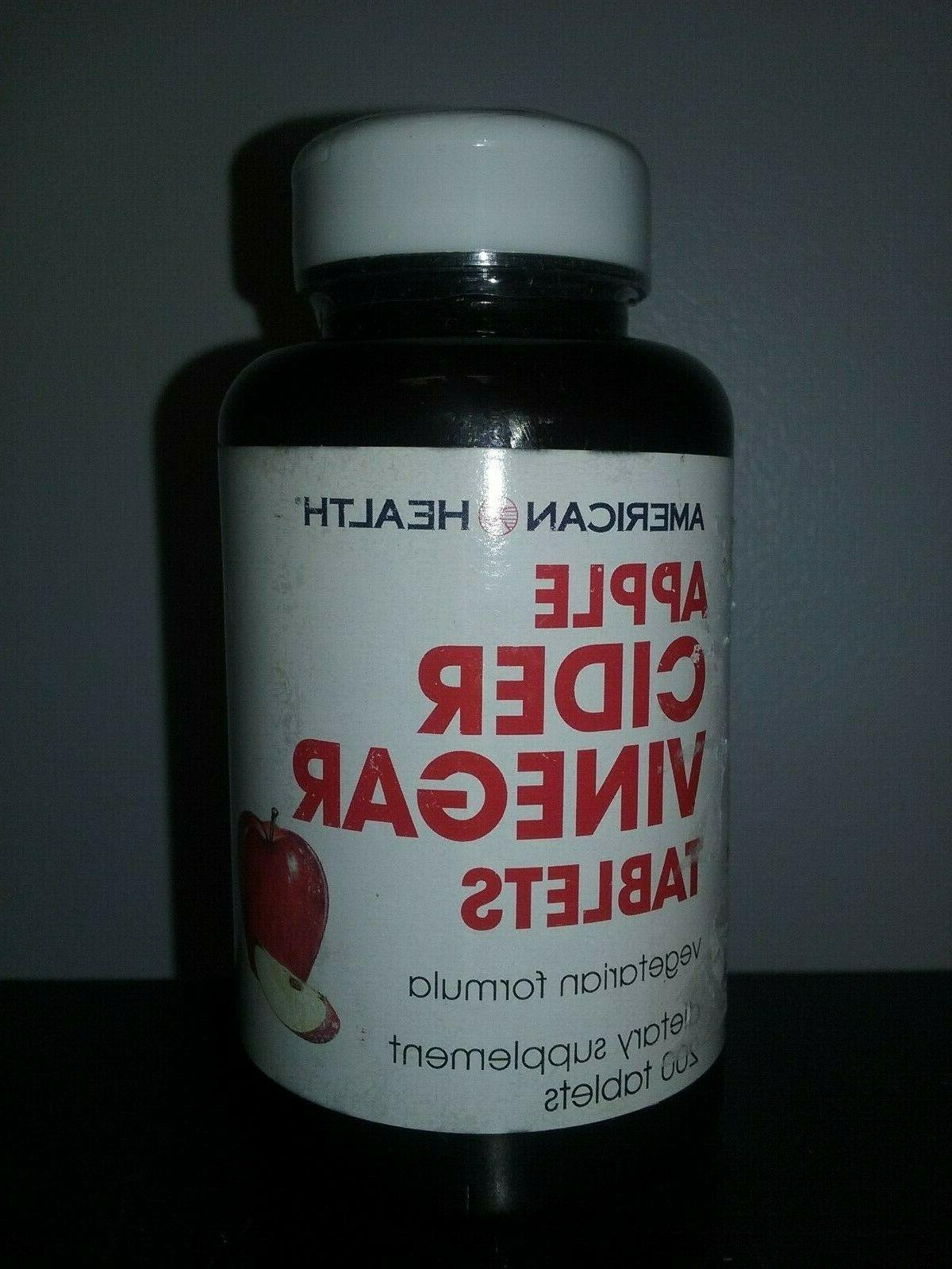 apple cider vinegar tablets 200ct exp 2