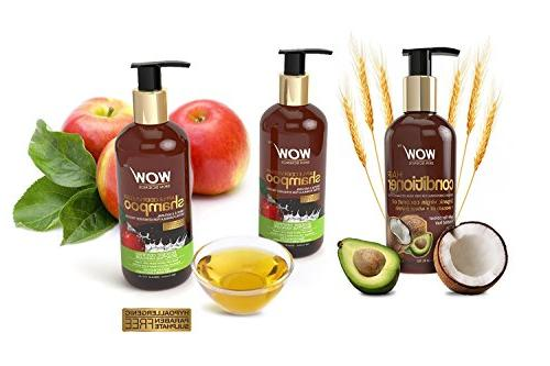 WOW Apple Shampoo + Wow Conditioner & Paraben Free
