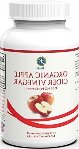 Organic Cider Pills Relief & – Hunger & Assist Weight – 120