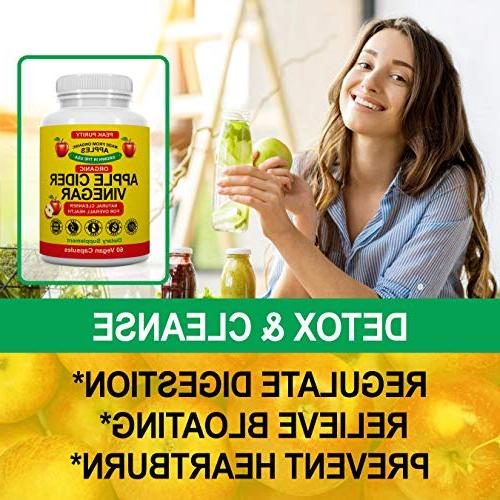 100% Raw Cider Vinegar All Cleanse Loss, Suppressant & Booster Supplement -