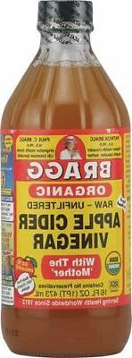 Bragg Organic Raw Unfiltered Apple Cider Vinegar With The 'M