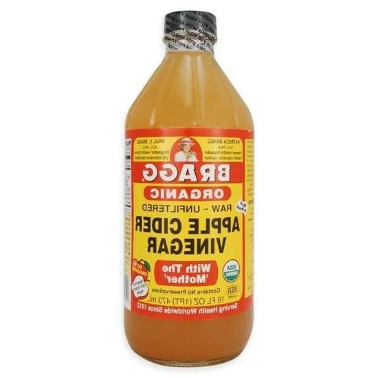 """Bragg Organic Raw Unfiltered Apple The """"Mother"""" 16 fl oz"""