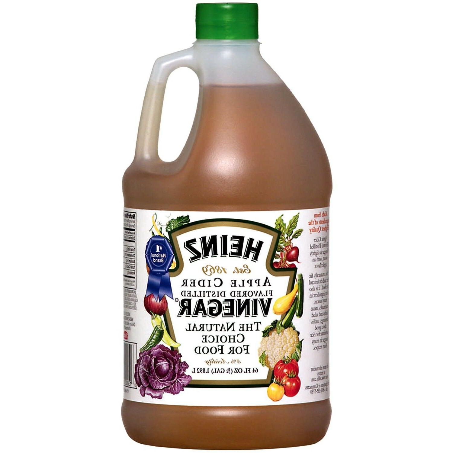 Heinz, Vinegar Apple Natural oz, ½ Gallon