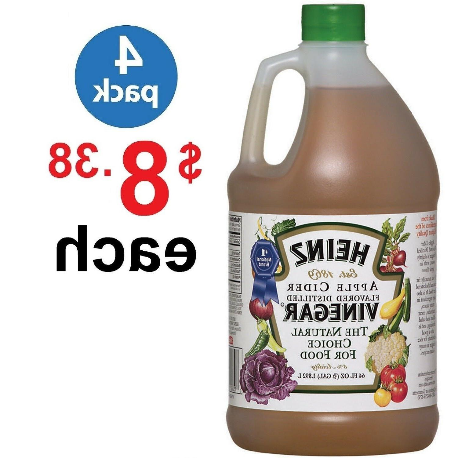 vinegar apple cider natural 64 fl oz