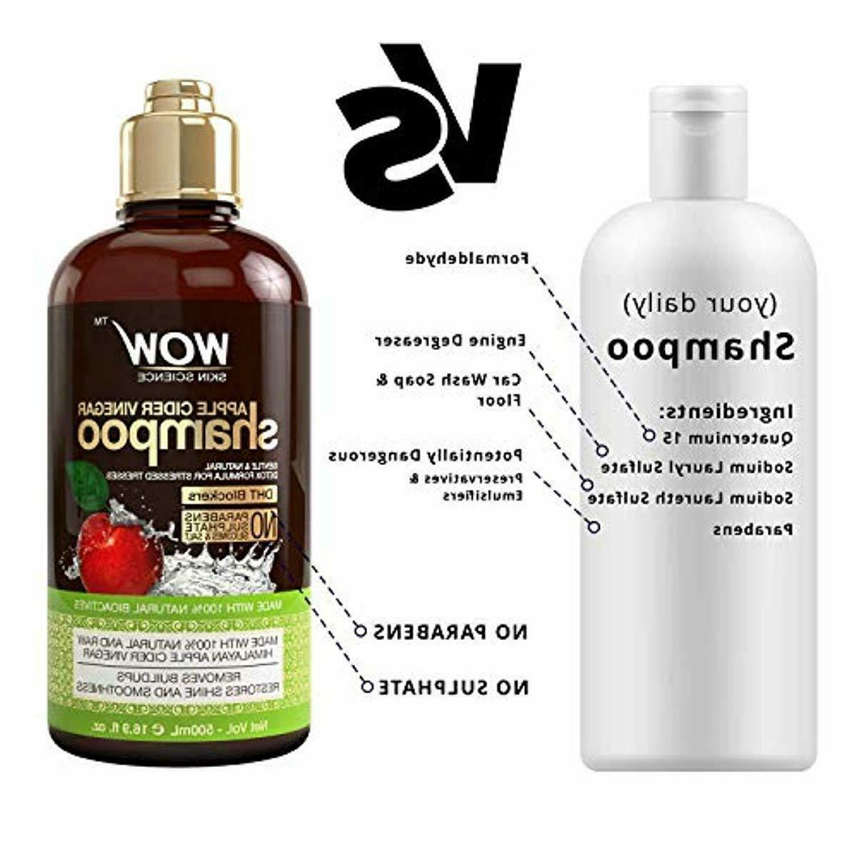 WOW Apple Shampoo And Conditioner Set Increase Gloss Hair