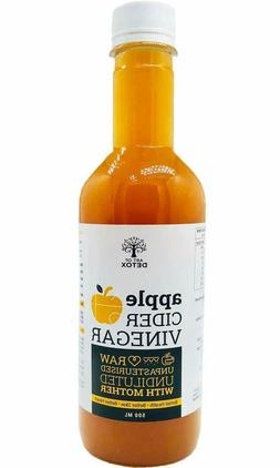 Art of Detox Natural Apple Cider Vinegar with Mother, Raw an