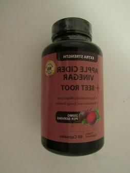 New Sealed Totally Products apple Cider Vinegar + Beet Root