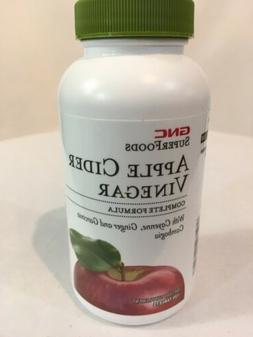 ***OPENED*** GNC SUPERFOODS APPLE CIDER VINEGAR 120  TABLETS